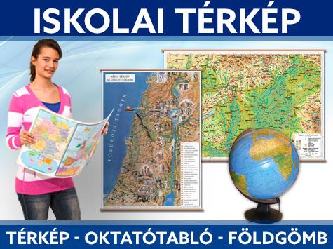 iskolai térkép