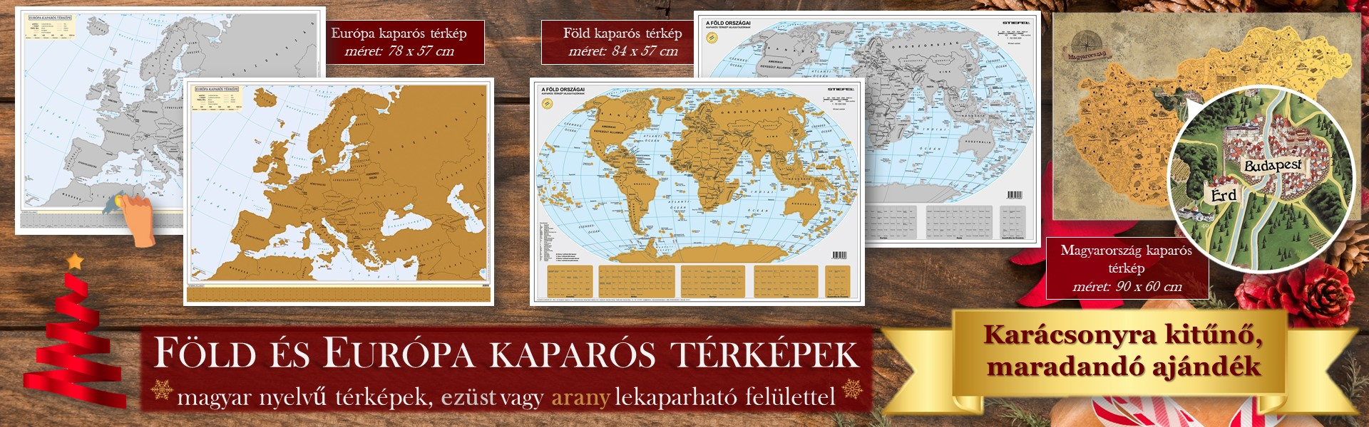 Kaparós térkép akció